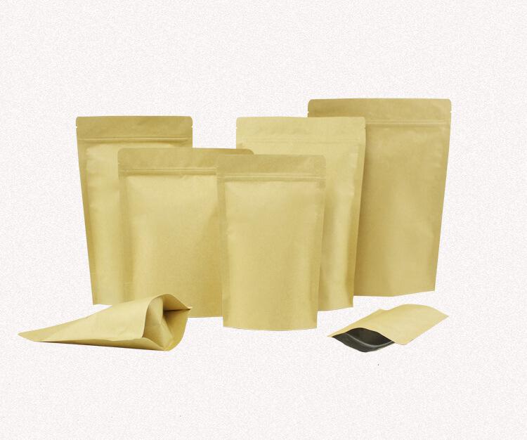 Túi giấy zipper đựng đồ ăn nhanh