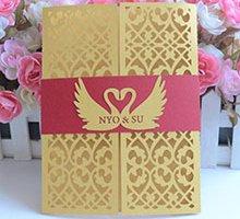 thiết kế thiệp cưới đẹp, độc đáo