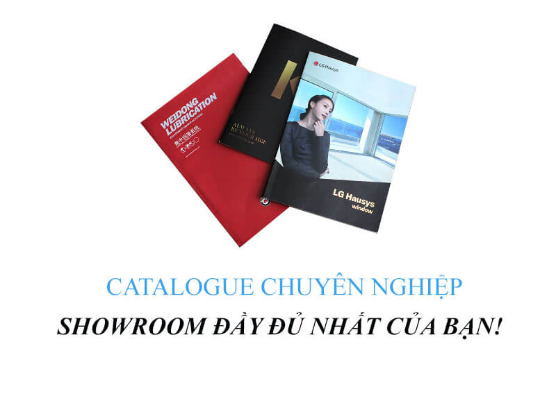 Lưu ý khi thiết kế catalogue