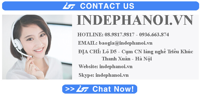 Xưởng In hộp giấy kraft giá rẻ Hà Nội