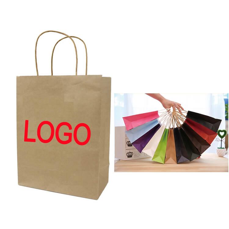 Bạn có thể lựa chọn màu sắc, hình ảnh để in lên túi giấy kraft