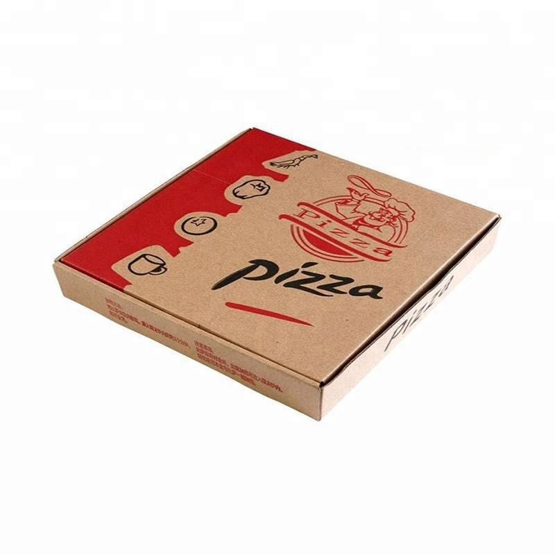 Hộp carton đựng bánh pizza