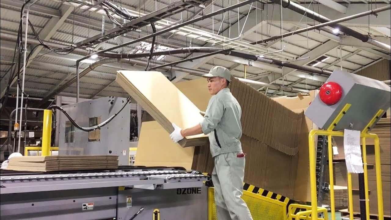Xưởng sản xuất bao bì thùng carton