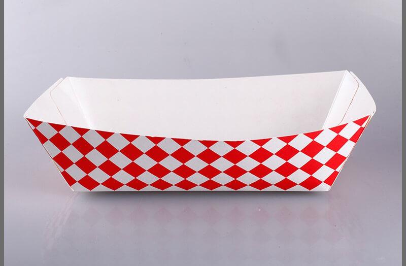 Hộp giấy đựng thức ăn nóng dạng khay