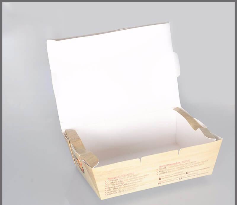 Hộp giấy đựng thức nóng loại nhỏ