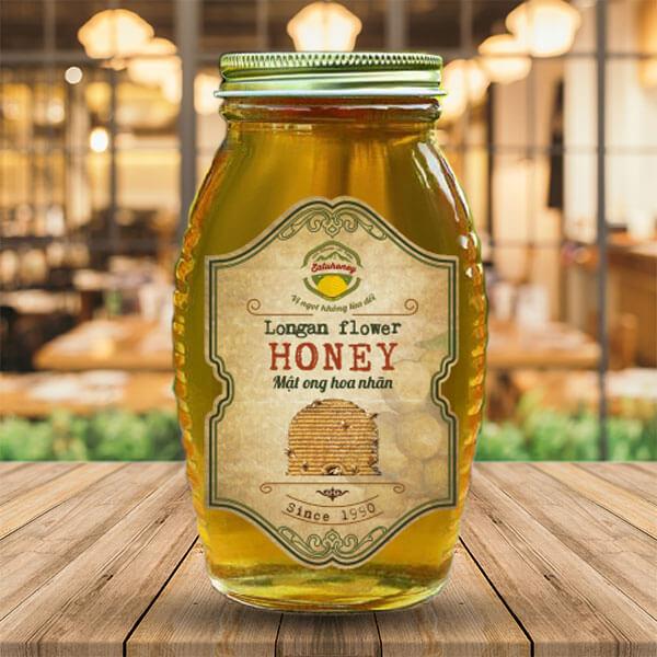Mẫu tem nhãn mật ong 6