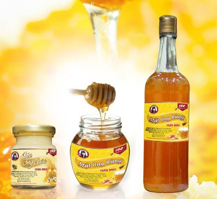 Mẫu tem nhãn mật ong 10