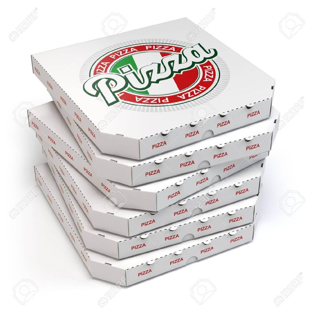 Mẫu Hộp Bánh pizza đẹp 14