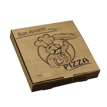 Mẫu Hộp Bánh pizza đẹp 11