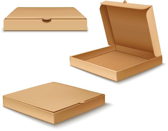 Mẫu Hộp Bánh pizza đẹp 02