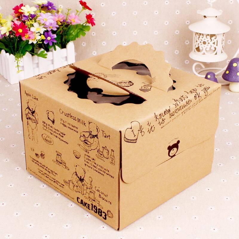 Mẫu hộp bánh sinh nhật 09