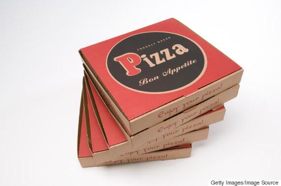 Mẫu Hộp Bánh pizza đẹp 09