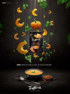 Mẫu quảng cáo súp