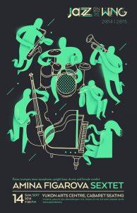 Mẫu tờ rơi buổi hòa nhạc jazz
