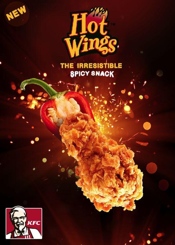Mẫu tờ rơi của KFC