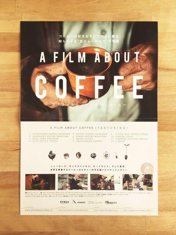 Mẫu tờ rơi quảng cáo cà phê