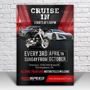 Mẫu tờ rơi quảng cáo ô tô-xe máy