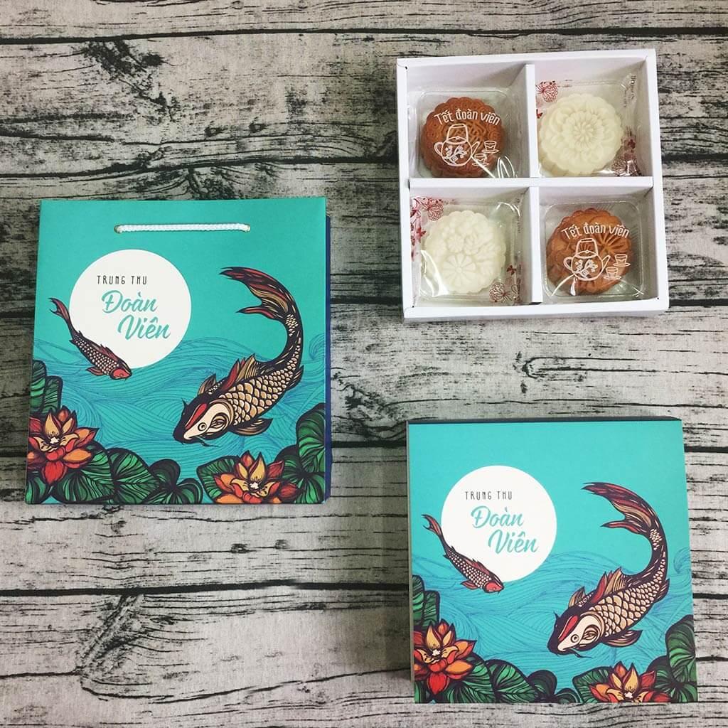 Mẫu hộp bánh handmade truyền thống