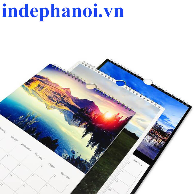 In lịch lò xo 2020 tại Hà Nội