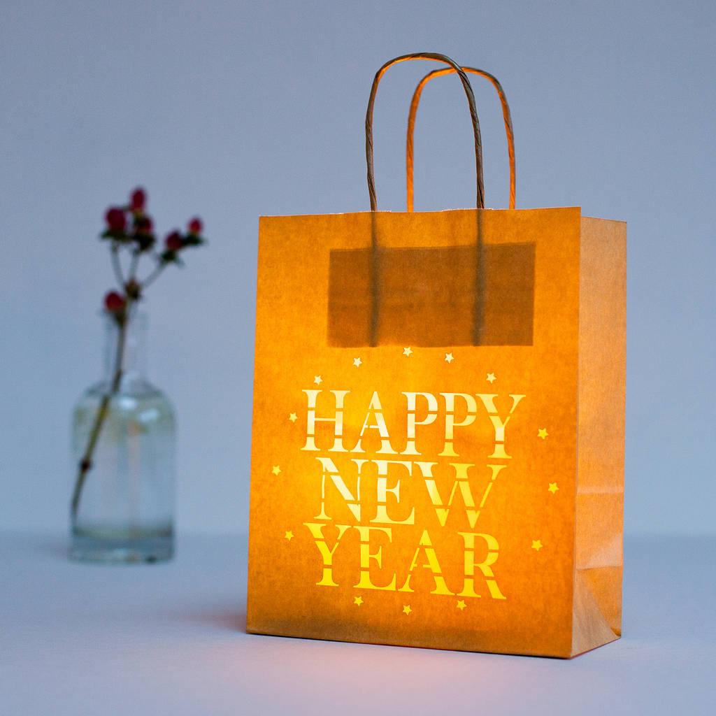 Túi giấy đựng quà tết bằng giấy kraft