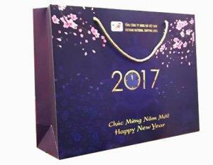 Túi giấy chúc mừng năm mới