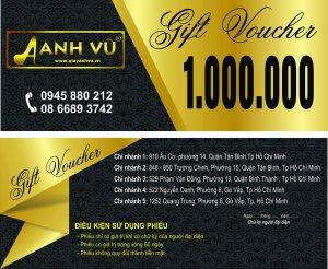 In voucher lấy ngay tại Hà Nội