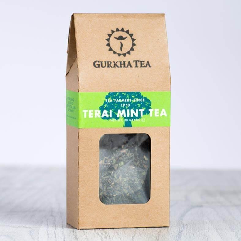 In hộp giấy kraft đựng trà