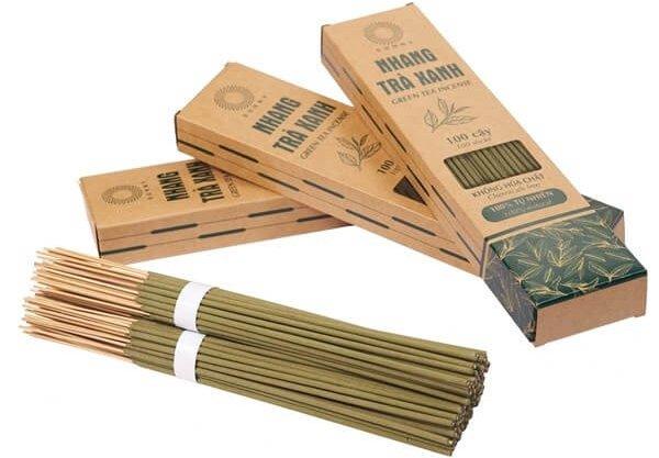 Hộp giấy kraft đựng nhang sạch