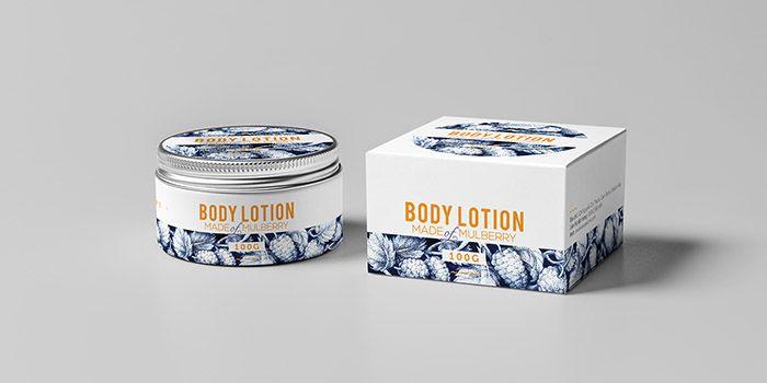 In hộp giấy đựng kem body đẹp