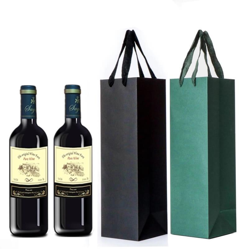 Túi giấy đựng rượu đẹp