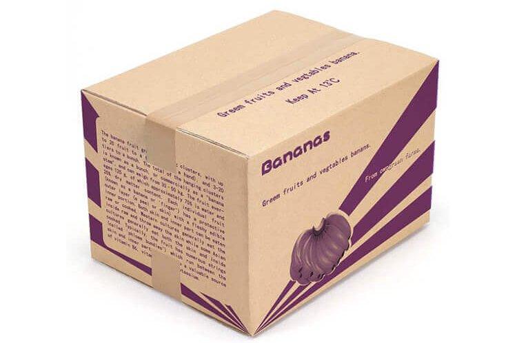 In thùng carton đựng trái cây bằng phương pháp in flexo