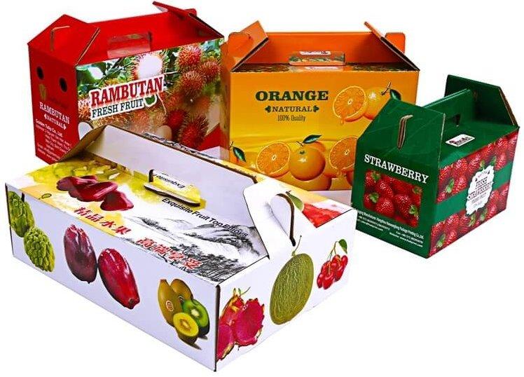 In hộp đựng trái cây
