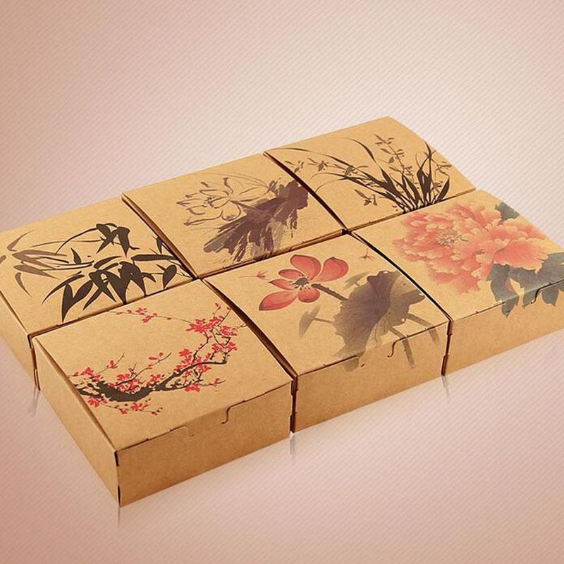 Mẫu hộp đựng bánh trung thu handmade