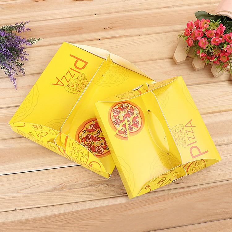 In hộp bánh pizza đẹp bằng giấy bìa cứng