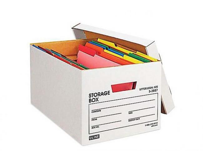 Hộp carton đựng tài liệu giá rẻ