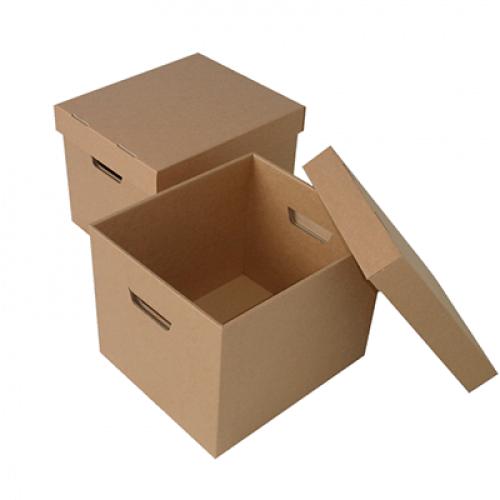 Thùng carton có nắp đựng hồ sơ