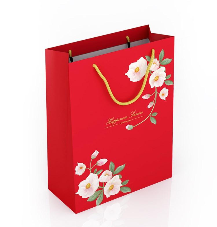 Túi giấy đựng quà tết giấy Ivory 300gsm