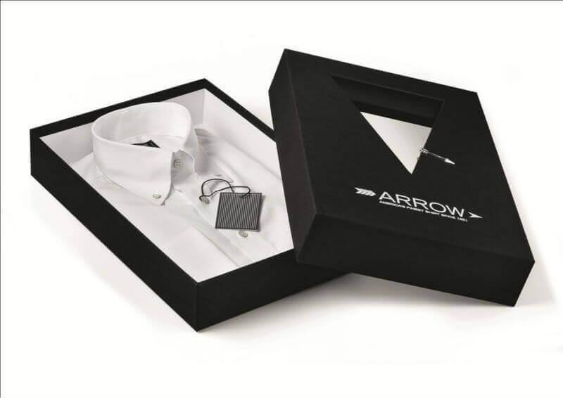 lựa chọn kiểu cách thiết kế hộp đựng áo