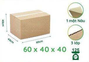 Cấu tạo thùng carton 60x40x40