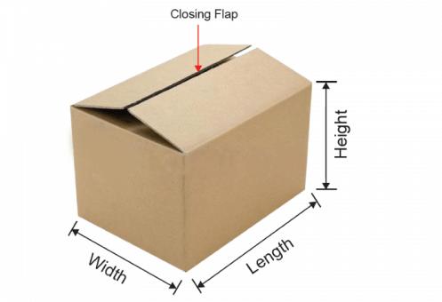 Thùng carton nắp đối khẩu