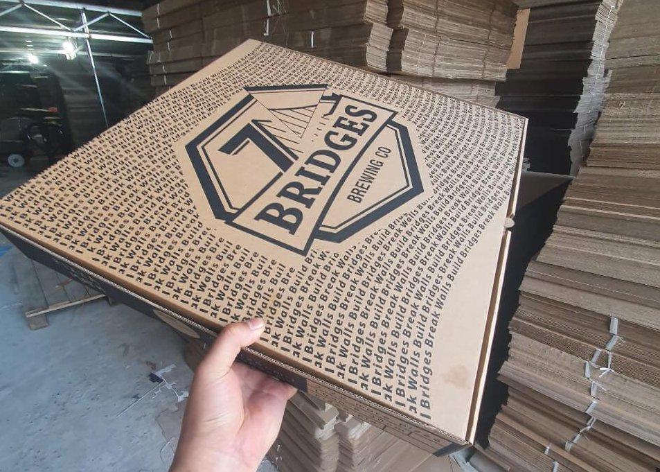 Hộp carton đựng gà mẹt cỡ lớn