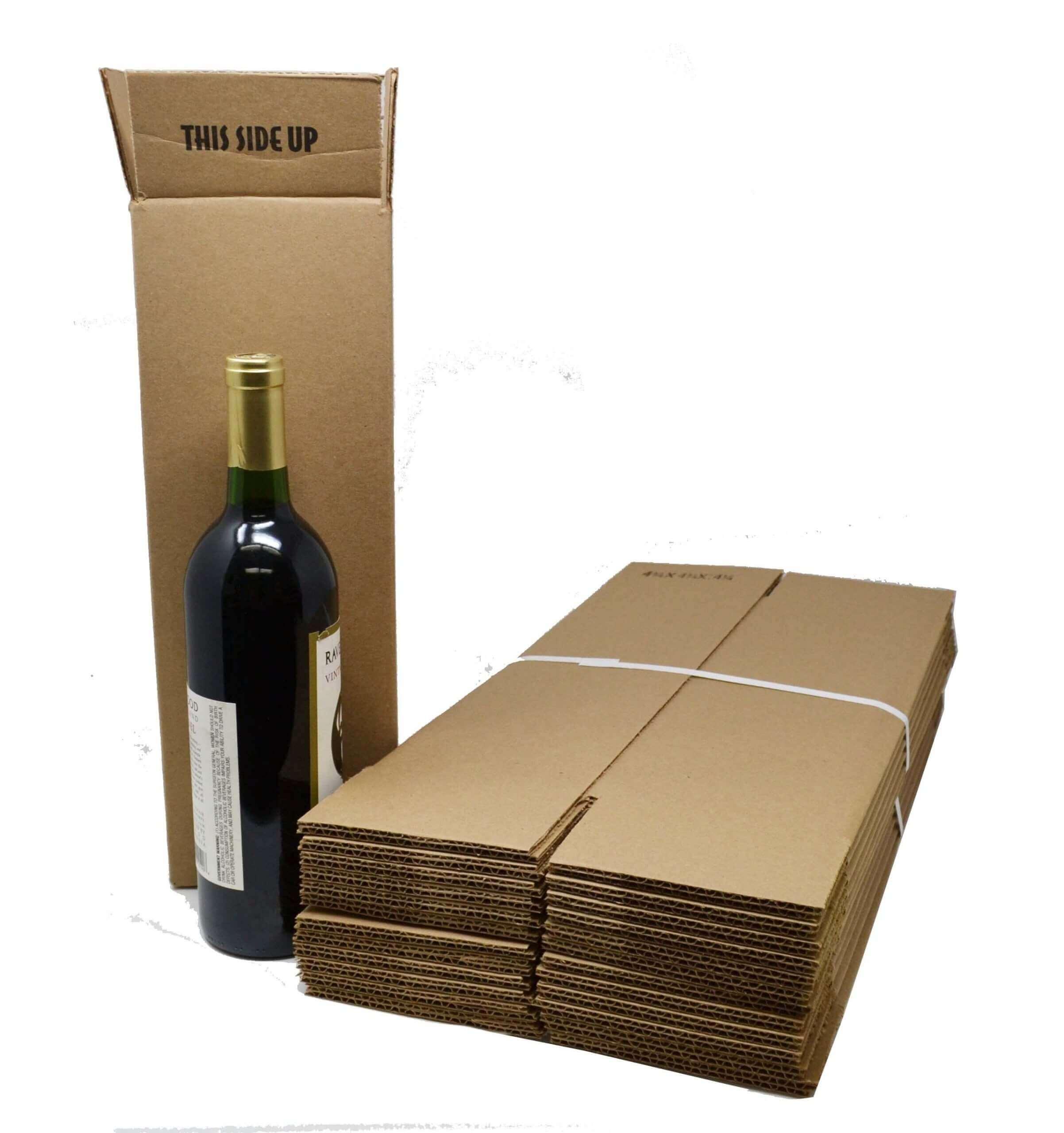 Hộp carton đựng 1 chai rượu